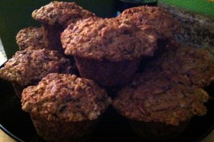 Big Bad Beet & Apple Muffins