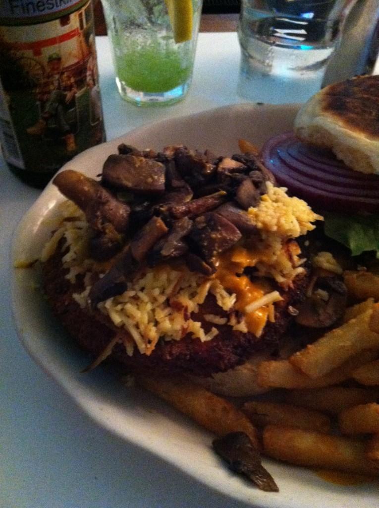 Westville Veggie Burger Open Face