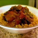 Eggplant Kale and Quinoa